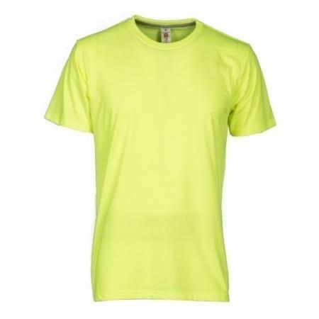 T-Shirt SUNSET uomo FLUO