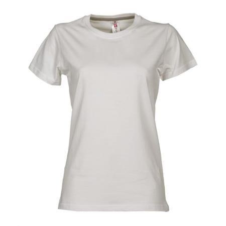 T-Shirt SUNSET donna BIANCO