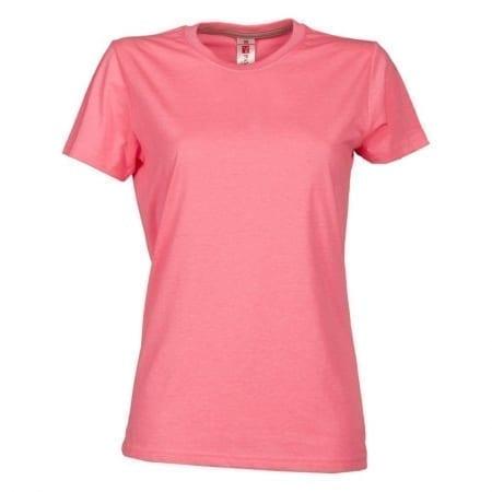 T-Shirt SUNSET donna FLUO