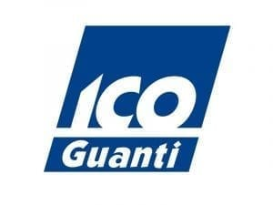 Immagine che mostra il logo della ditta ico guanti. Uni3 servizi, fornitori di detergenti, imballaggio, antinfortunistica, abbigliamento professionale e articoli in carta.
