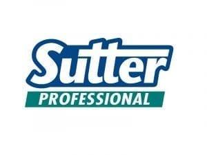 Immagine che mostra il logo della ditta sutter. Uni3 servizi, fornitori di detergenti, imballaggio, antinfortunistica, abbigliamento professionale e articoli in carta.