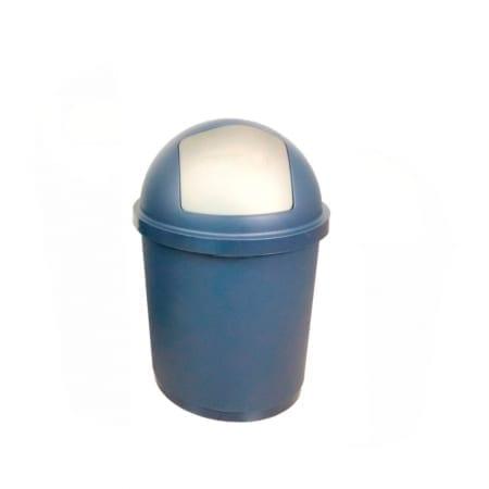 Bidone zeuss 40 litri 40lt chiusura push igienico